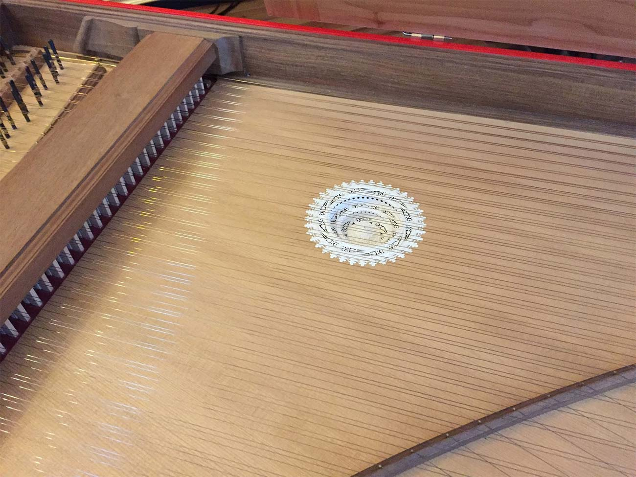 Harpsichord Blanchet detail 1