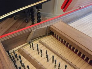 Harpsichord Blanchet detail 2