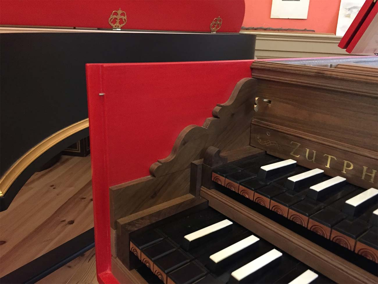 Harpsichord Blanchet detail 3