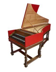 french double harpichord Jan kalsbeek harpichord maker